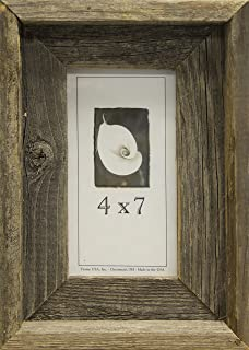 product image for Frame USA Barnwood Series 4x7 Picture Frames - Made with Real Reclaimed Wood