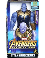 Marvel- Titan Hero Series Thanos (Hasbro E0572EU4)