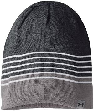 521df54bf45 Under Armour 2017 ColdGear 4 in 1 Reversible 2.0 Beanie Mens Winter Golf Hat  Black