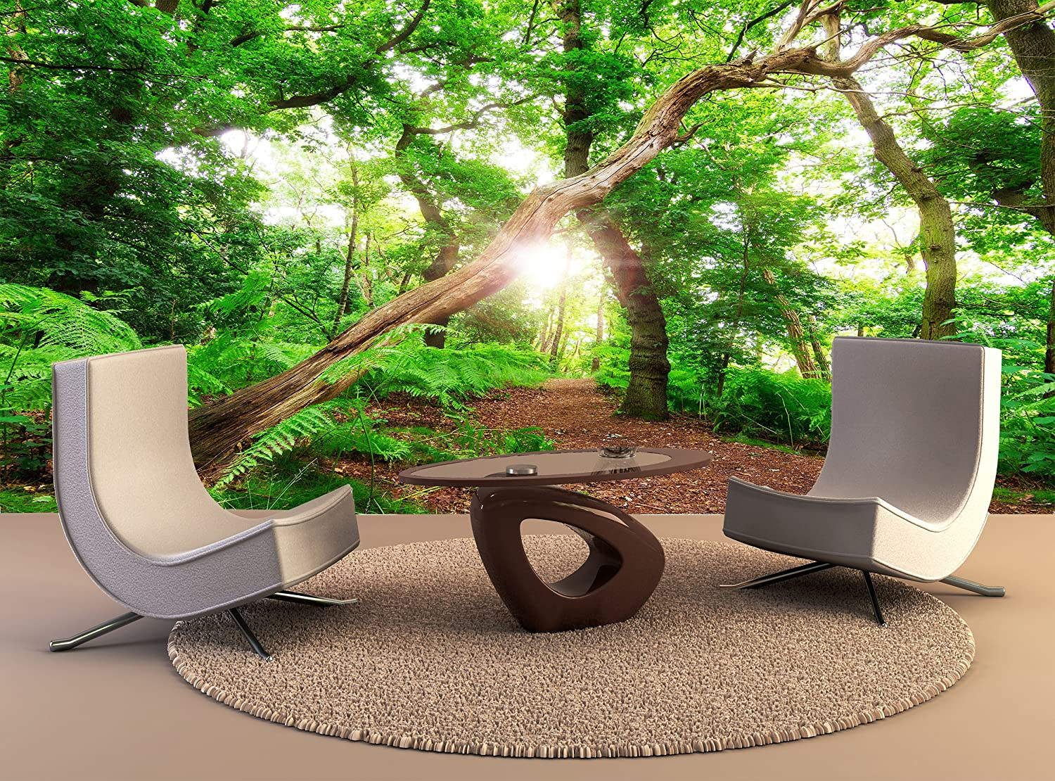 Tree Plant Road Mountain Sky Nature Wallpaper Mural Wall Art Photo Room Poster