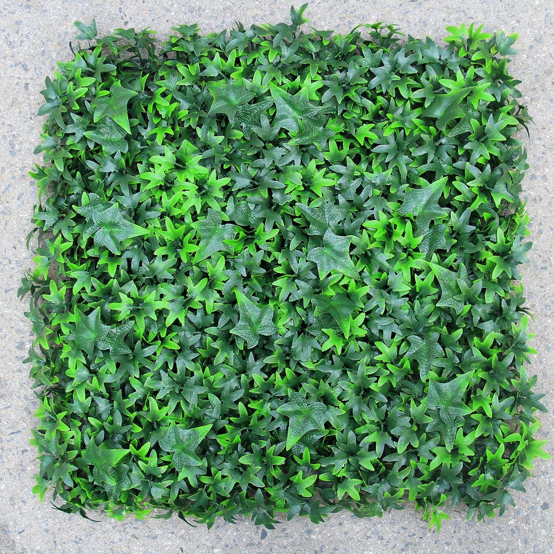Uland 6pcs 50,8 x 50,8 cm Ivy Heckenschere Mats Sichtschutz Zaun ...