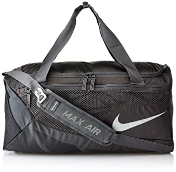 a392571be6c0 Nike Synthetic 40 cms Black Black White Travel Duffle (BA5282-010)  Amazon. in  Bags