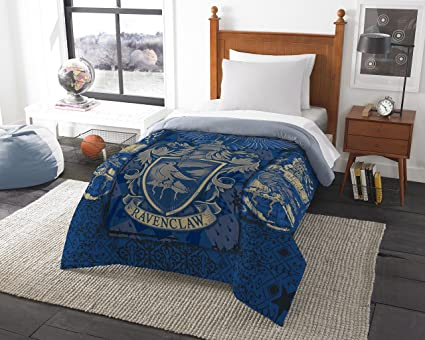 Harry Potter Ravenclaw House Crest Twin Or Full Comforter