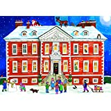 Alison Gardiner 'Country House Christmas' Large Traditional Advent Calendar