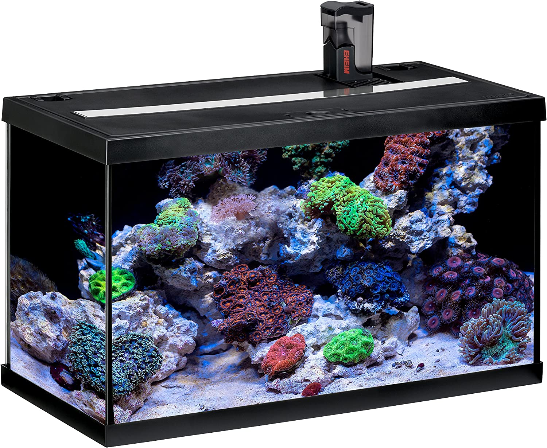 Marine Aquarium Fish Tank 60cm 63l Aquastar 63 Aquarium Only Black Amazon Co Uk Kitchen Home