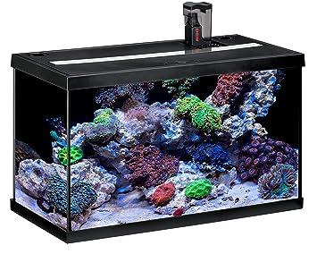 Eheim Aquastar 63 Marin - Acuario para acuariofilia, color negro, 2 x 12 W, 63 L: Amazon.es: Productos para mascotas