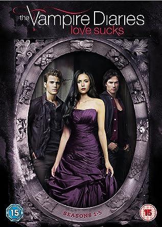 The Vampire Diaries - Season 1-5 [DVD] [2014]: Amazon co uk: Nina