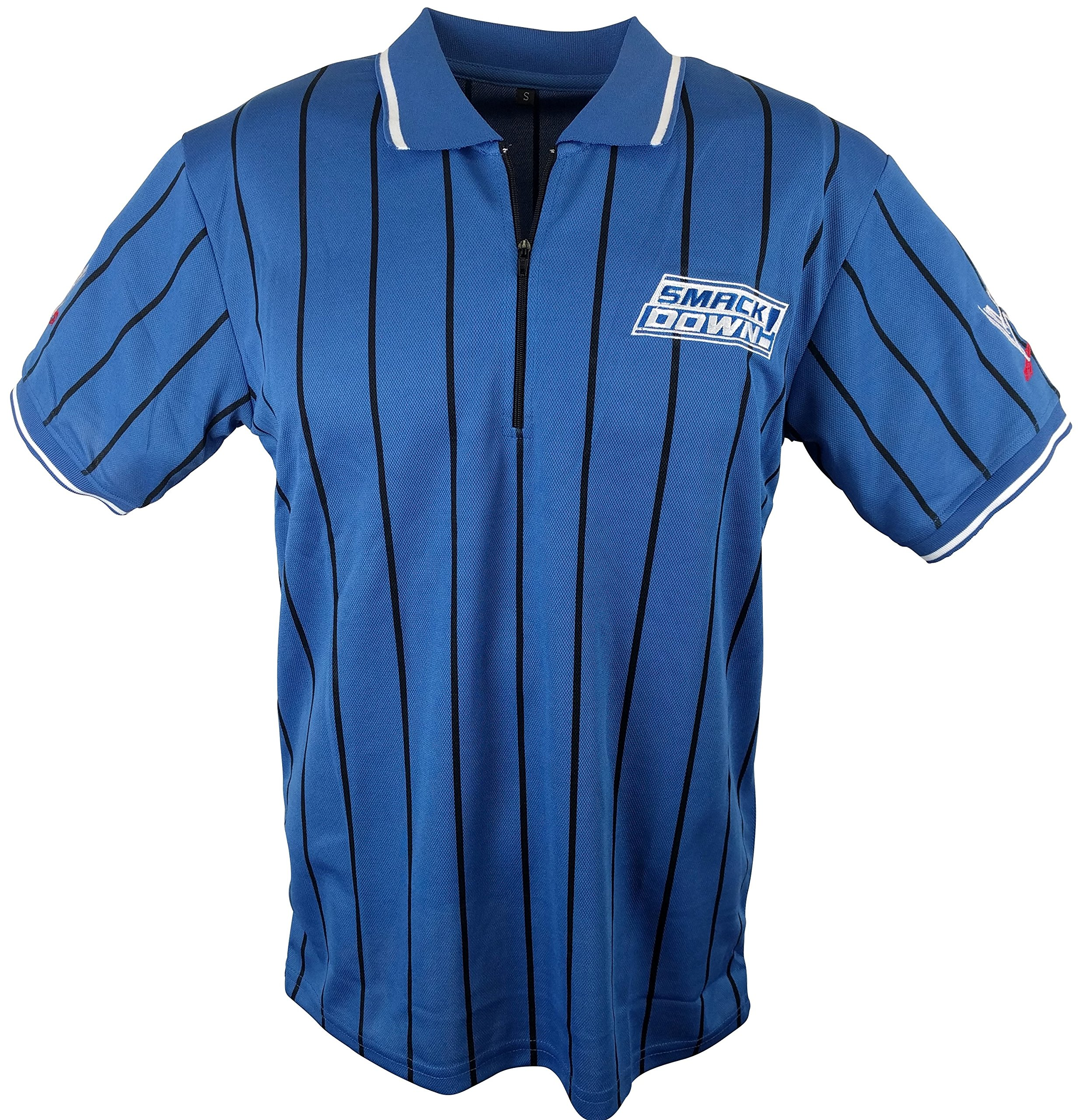 Smackdown Live WWE WWF Referee Shirt New Adult Sizes-L by Hybrid Tees