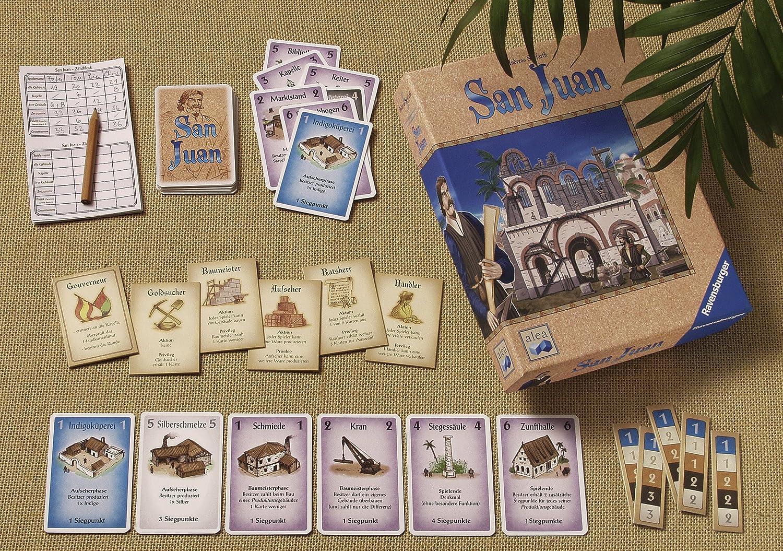 Ravensburger 26924 San Juan - Juego de mesa [Importado de Alemania]: Amazon.es: Electrónica