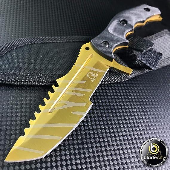 Amazon.com: Juego de cuchillos Triple CSGO de Gold Falcon (3 ...