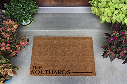 Superieur Qualtry Personalized Door Mats Outside   Custom Doormat Outdoor Or Beach  Welcome Mat (Large Size