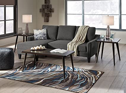 Fine Amazon Com Jarreau Contemporary Gray Color Fabric Sofa Gmtry Best Dining Table And Chair Ideas Images Gmtryco