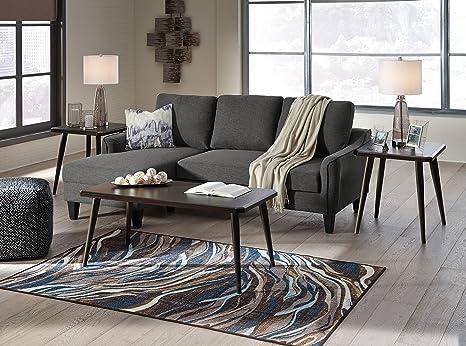 Sensational Amazon Com Jarreau Contemporary Gray Color Fabric Sofa Pabps2019 Chair Design Images Pabps2019Com