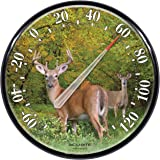 AcuRite 01737A2 12.5-Inch Wall Thermometer, Deer