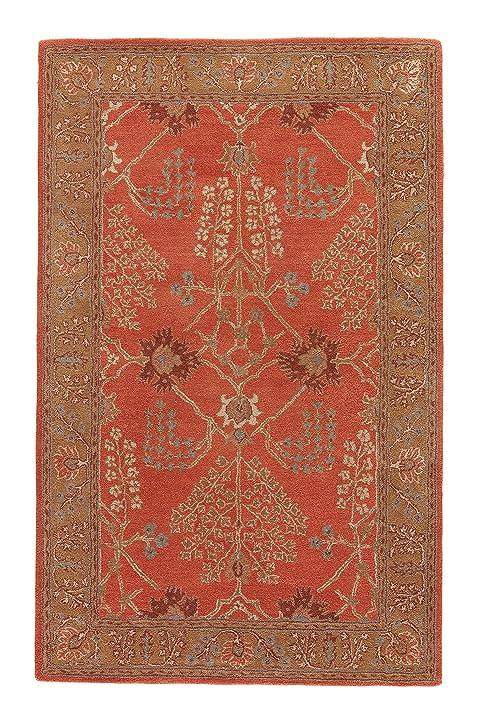 Jaipur Living Chambery Hand Tufted Oriental Orange Area Rug (3u00276u0026quot; ...
