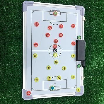 Sportevo Tabla de toallitas secas (45 x 30 cm), Diseño de Tácticas de