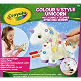 "Crayola 93020 ""Colour n Style"" Unicorn Craft Kit"