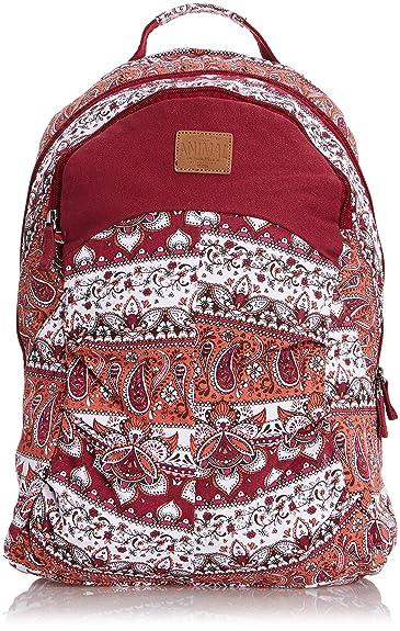 4a8eed987155 Animal Womens Beau Backpack LU4WE306 Maroon  Amazon.co.uk  Luggage