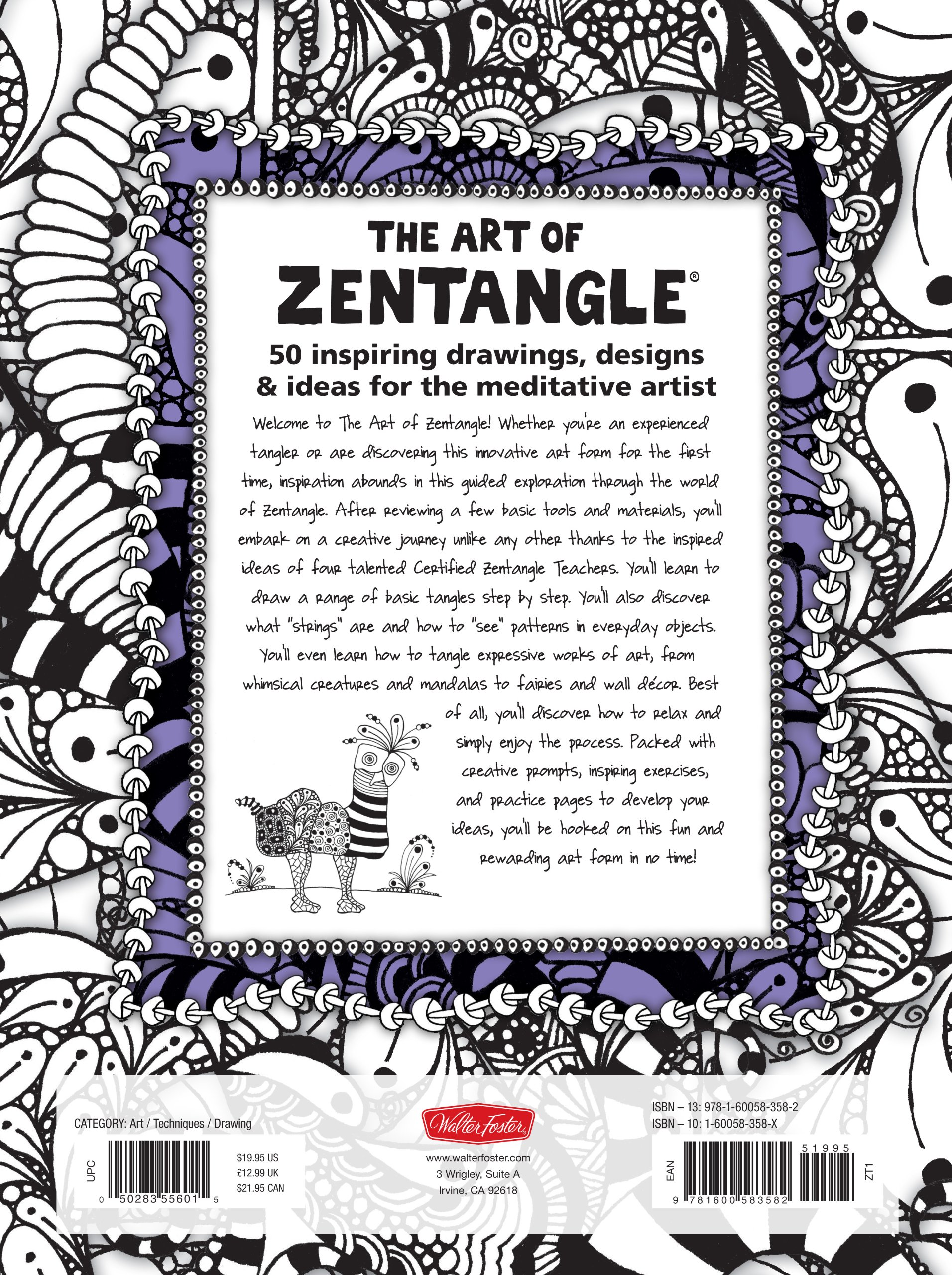 The art of zentangle 50 inspiring drawings designs ideas for the the art of zentangle 50 inspiring drawings designs ideas for the meditative artist margaret bremner norma j burnell penny raile lara williams fandeluxe Image collections