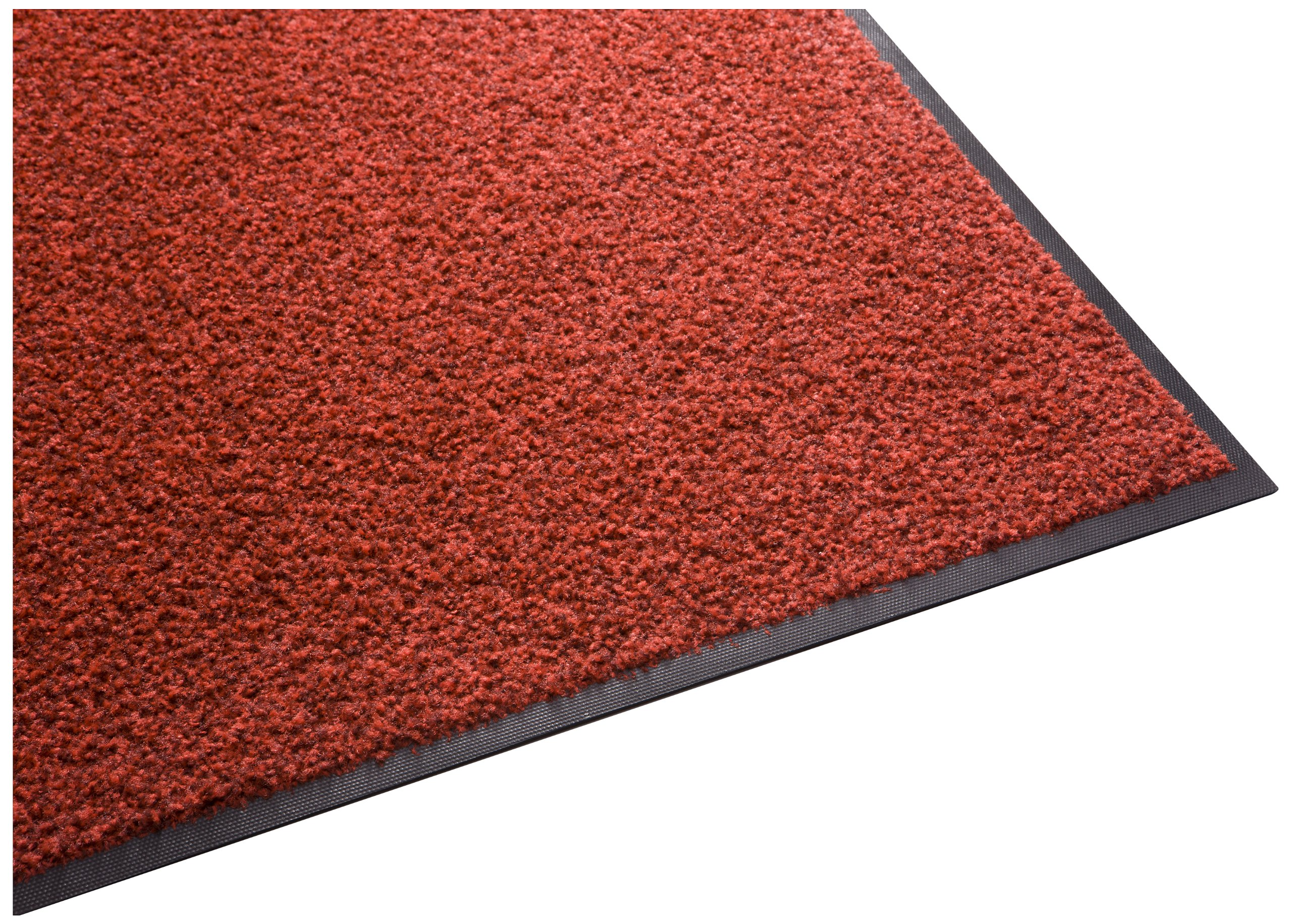 Guardian Platinum Series Indoor Wiper Floor Mat, Rubber with Nylon Carpet, 6'x7', Red by Guardian