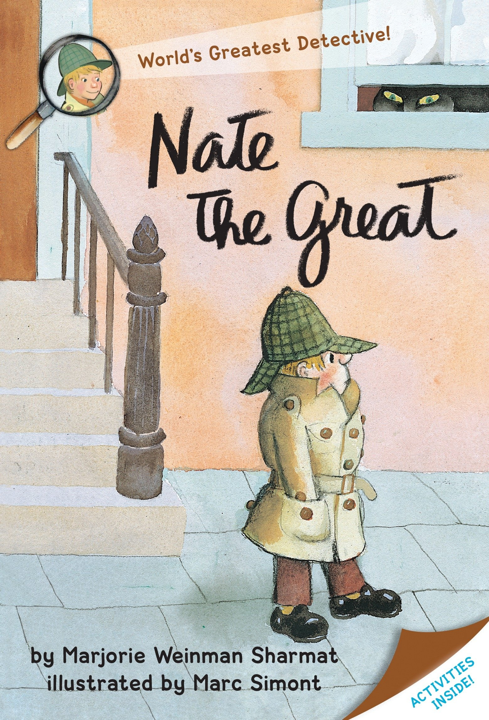 The Best Chapter Books for 1st Graders featured by top Seattle lifestyle blogger, Marcie in Mommyland: Nate the Great