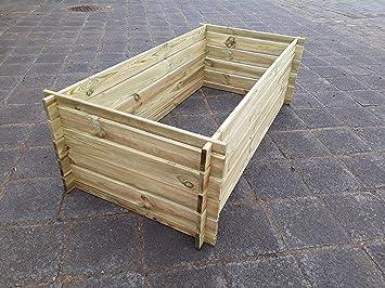 Naturholz Shop Stabiler Holzkomposter Komposter Kompostbehalter