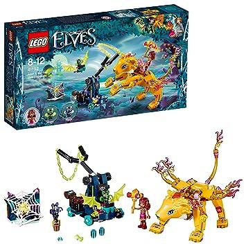 Elves Del FuegoSet Consturcción De Rowan41192 AventurasIncluye Captura León Lego Figura Y Azari La ZukXPi