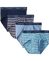 Hanes Men's 4-Pack FreshIQ Tagless Cotton Brief