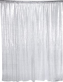 16498087c64 ShinyBeauty Sequin Backdrop - Backdrop Photography and Photo Booth Backdrop  for Wedding Party Photography