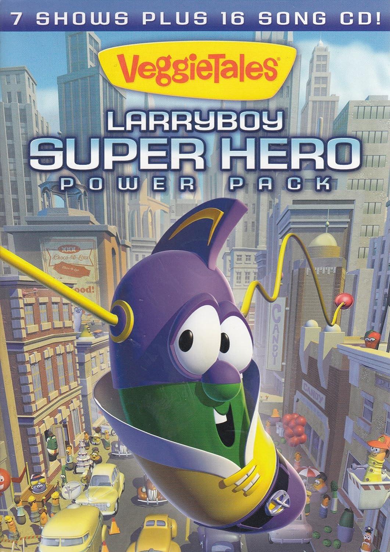 Veggietales - Larryboy Superhero Power Pack