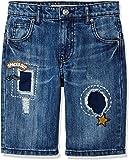 RED WAGON Pantaloncini di Jeans con Inserti Bambino