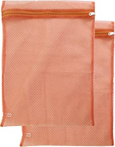 Gilbin Mesh Zippered Laundry Sock Bag 14x18