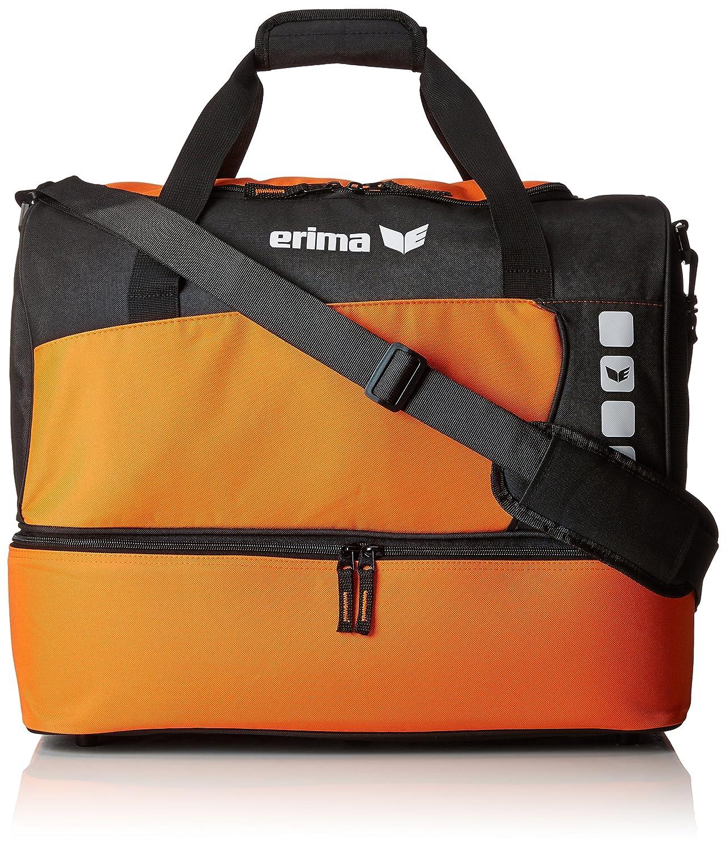 Erima GmbH 723338 Bolsa de Deporte con Compartimento Inferior, Amarillo/Negro, S