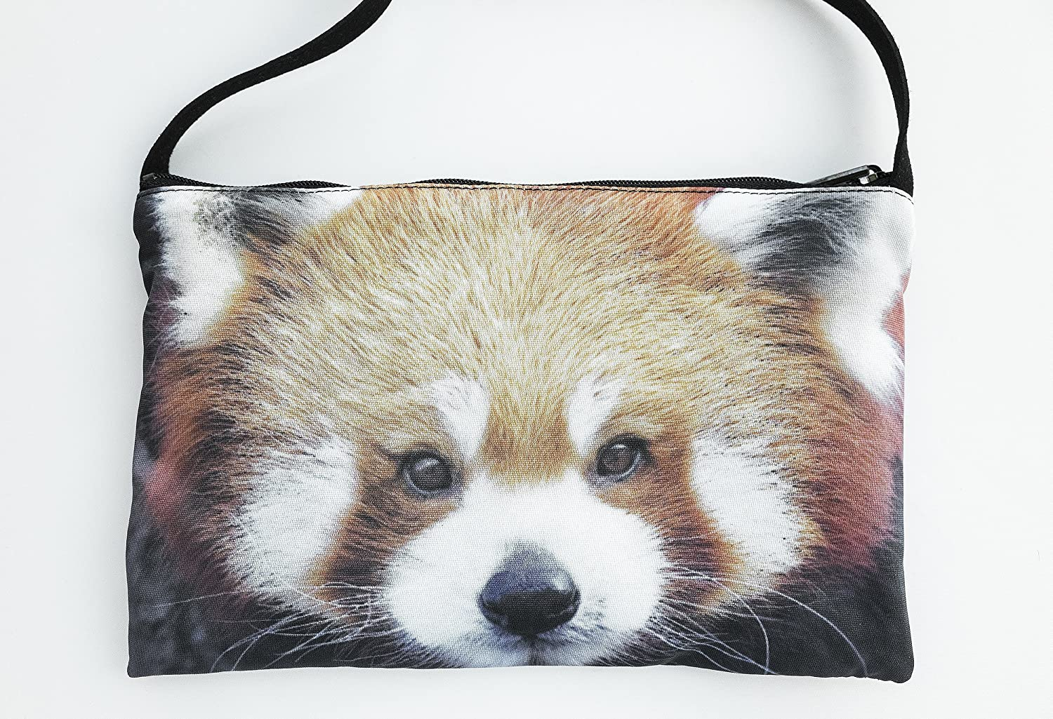 Red panda cross body phone bag, shoulder bag, hipster, pouch, purse