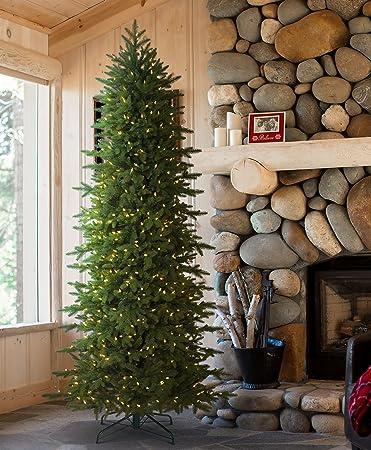 Amazon.com: Tree Classics Oregonian Slim Artificial Christmas Tree ...