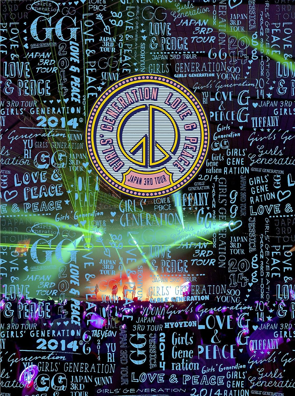 GIRLS' GENERATION  ~LOVE&PEACE~Japan 3rd Tour [Blu-Ray] (初回限定盤) B00PLEA1BS