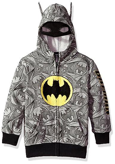 BATMAN DC COMICS HOODIE JACKET BOYS 4 5//6 7
