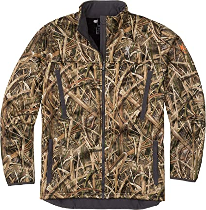 NEW BROWNING WICKED WING HIGH PILE FLEECE JACKET SHADOW GRASS BLADES CAMO