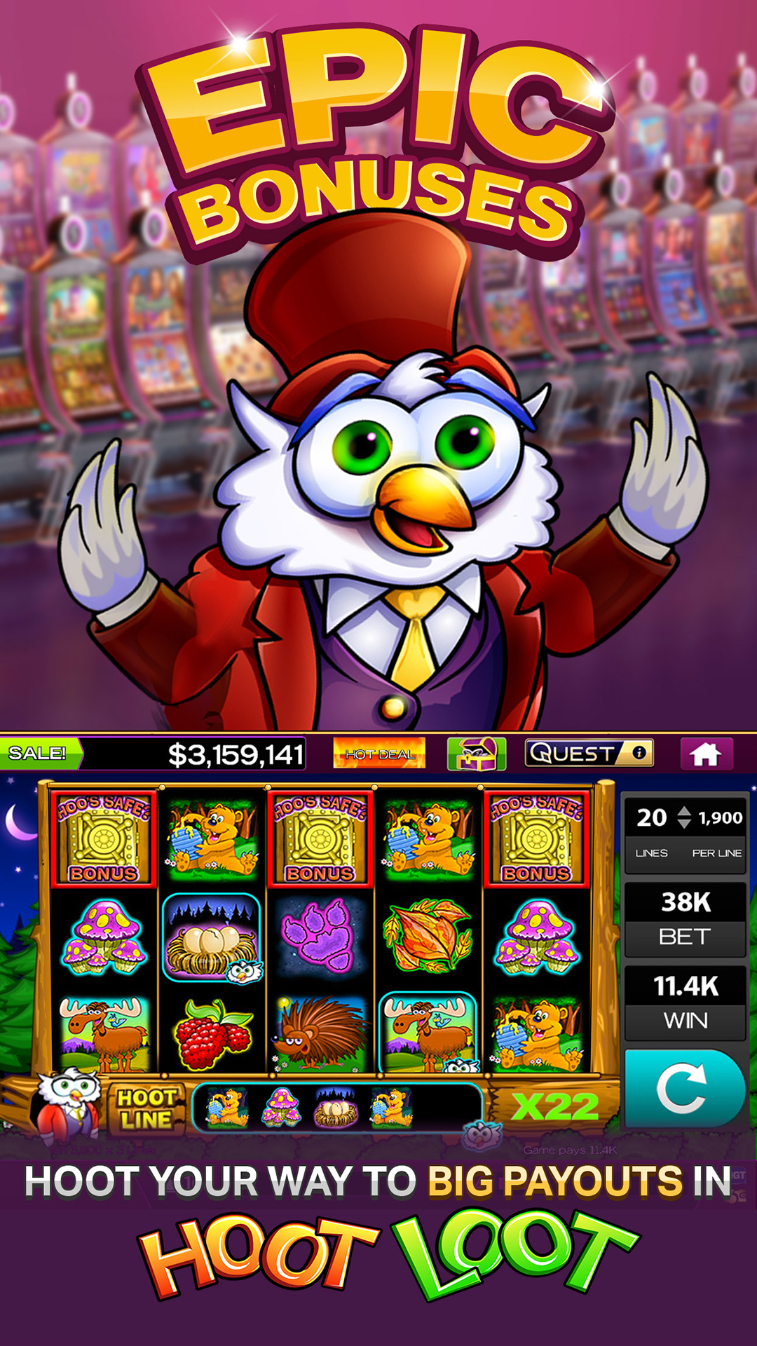 Amazon.com: High 5 Casino \u2013 Real Vegas Slots!: Appstore for Android