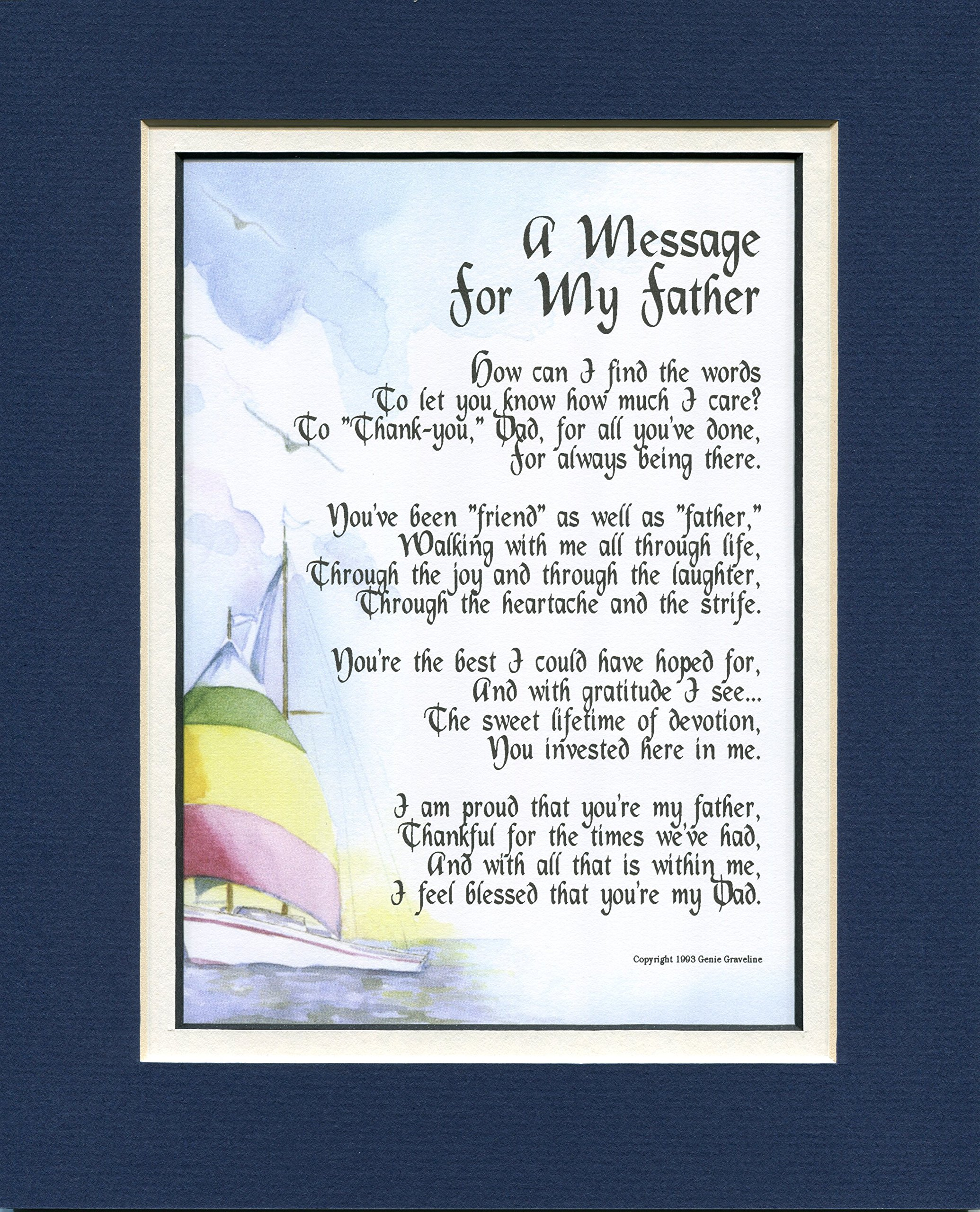 A Gift Present Poem For A Father Who Is Like A Friend, #19