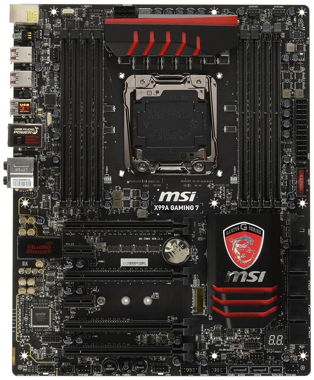 MSI X99A Gaming 7 - Placa Base (DDR4-SDRAM, DIMM ...