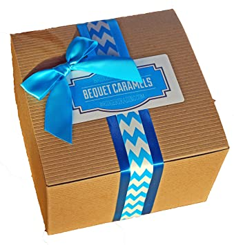 Amazon.com : Bequet Gift Box - Gourmet Caramels - Assorted Flavors ...