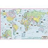 World Map : Political ( 70 x 50 cm ) (World Map)