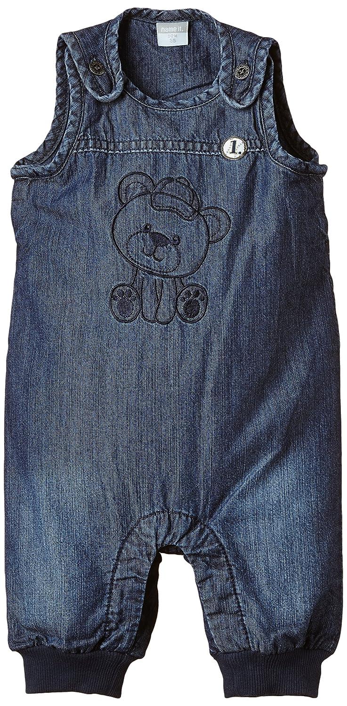 NAME IT Baby - Jungen Latzhosen Nitlandon Nb So DNM Suit Wl Ger 515 Gr. 56 Blau (Medium Blue Denim) 13125442