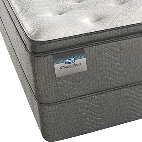 Amazon.com: Simmons BeautySleep Plush Pillow Top 450, King Innerspring Mattress: Kitchen & Dining