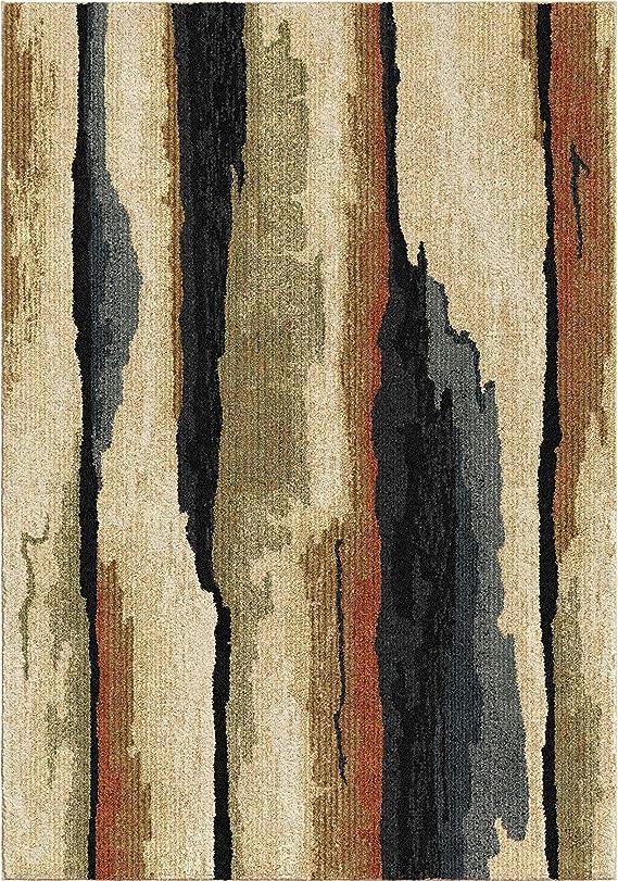 Orian Rugs Next Generation Rock Cliff Sunshine Area Rug 5 3 X 7 6 Multicolor Furniture Decor