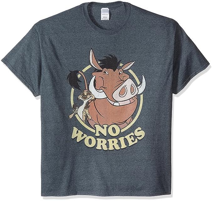 8ba54e89c8 Amazon.com: Disney Men's Lion King Timon and Pumba T-Shirt: Clothing