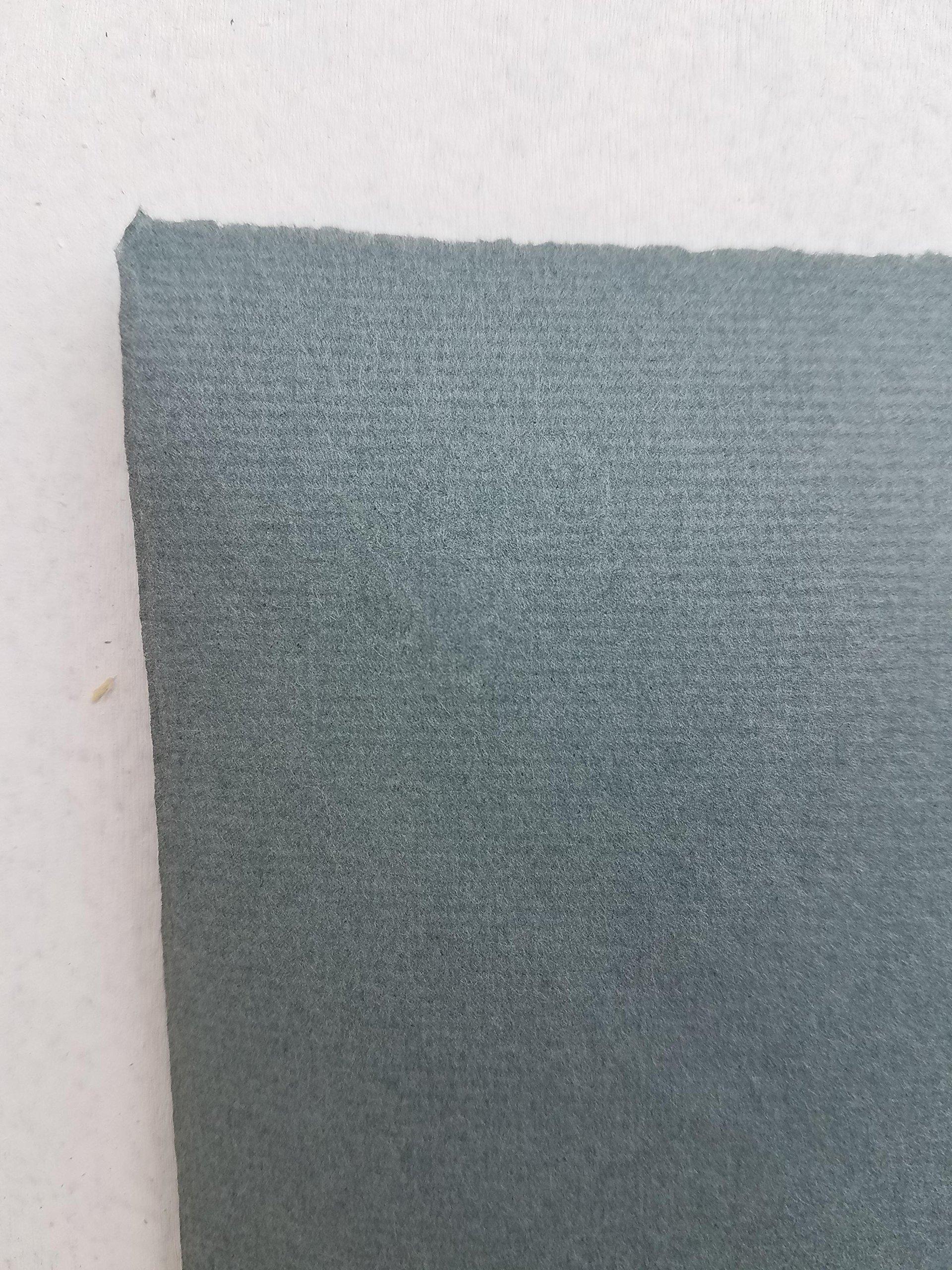 Hahnemuhle Ingres Paper, Blue/Grey 112, 19'' X 25'', 100 gsm (25 Sheet Package) by Hahnemuhle Ingres Antique