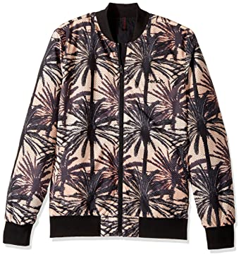 223de03b0 Bench Men's Reversible Printed Bomber Jacket at Amazon Men's ...