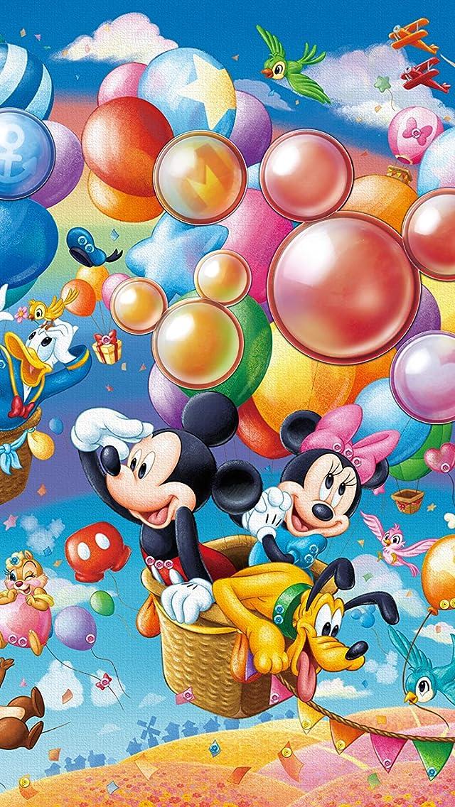 ディズニー Balloon Adventure (バルーン・アドベンチャー)  iPhoneSE/5s/5c/5(640×1136)壁紙画像